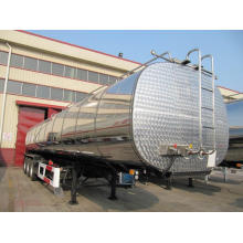 China for Sulphuric Acid Tank Trailer Road Insulation Tank Semi-Trailer for Transporting Bitumen export to Liechtenstein Suppliers
