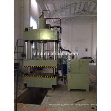 Máquina de prensa hidráulica para la línea de producción de calentadores de agua solares
