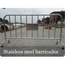 Stainless Steel Crowd Control Steel Barricades