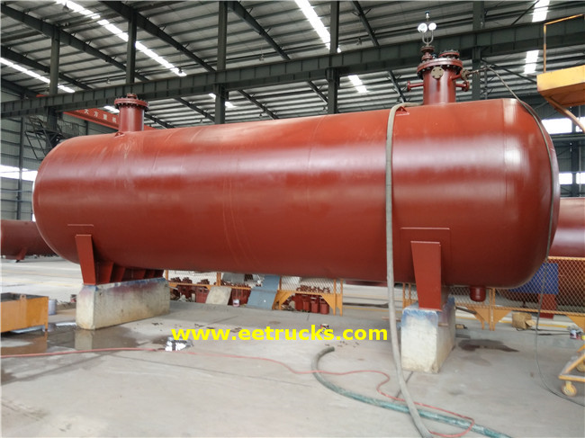 Propane Mounded Vessel