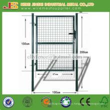 Садовые ворота с металлической сеткой высокого качества