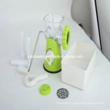 12 Цвет может выбрать Легко чистить Ручной пластиковый мясорубку (ET-MM008)