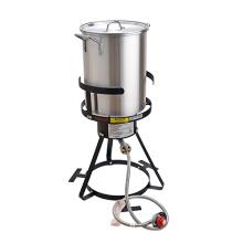 Turkey Fryer Set With 30 Quart Aluminum Pot