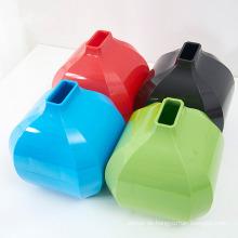 Bunte kreative reine Farbe Plastik Gewebe Halter (ZJH025)