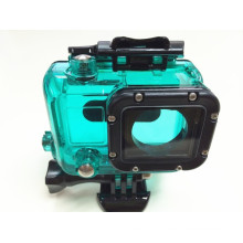 Blue, Green, Red colors Waterproof housing for Gopro Hero 3, 3+