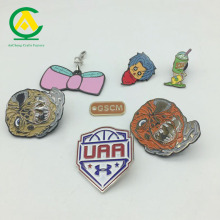 2018 Promotional cheap custom metal badge pin