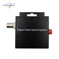 1 канал оптического волокна видео конвертер одиночного волокна одиночный режим 8бит/16.5 МГц