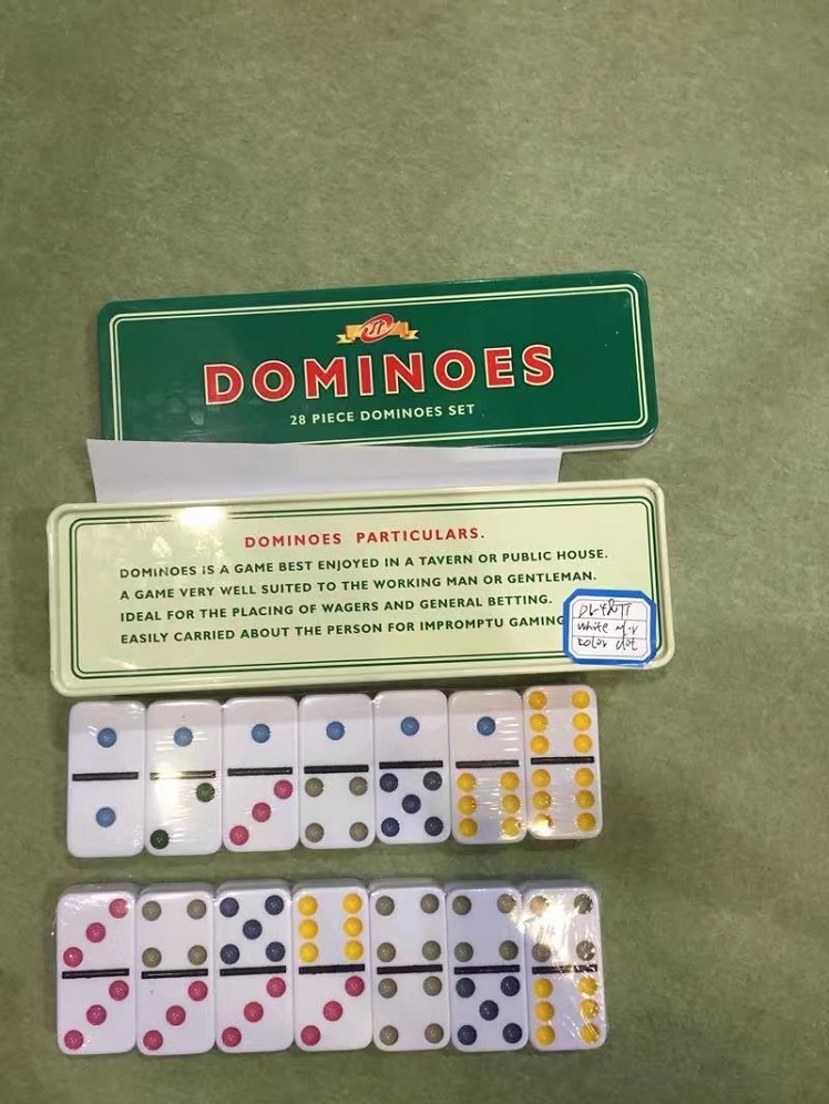 Beautiful Plastic Dominoes