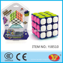 2015 Hot saling YJ YongJun Carat Diamond Speed Cube Educational Toys English Packing for Promotion