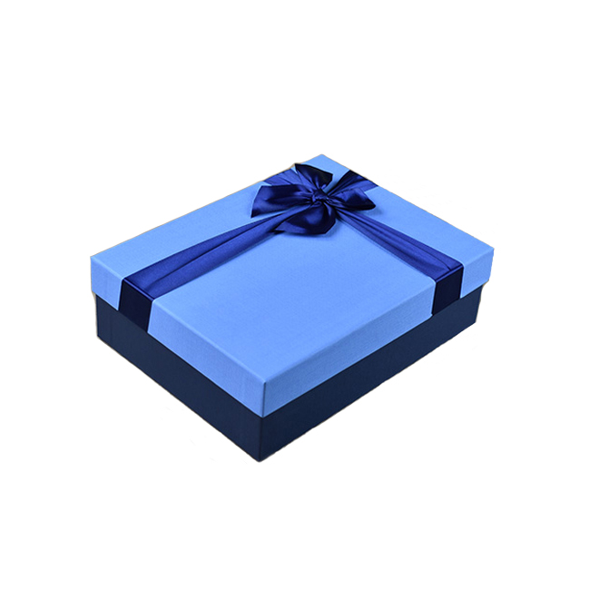 Blue Rigid Packaging Box