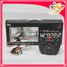 HUAJUN Factory W909-8 Metal 3 channels rc helicopter with gyro rc helicopter toy