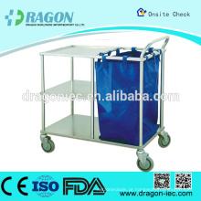 DW-TT211 Carrinho para marcação de leito e carrinho de limpeza hospitalar de enfermagem com desconto