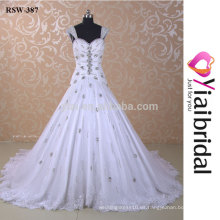RSW387 El último vestido de boda diseña los cuadros de la muestra