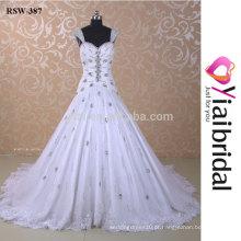 RSW387 Últimos desenhos de vestidos de casamento Imagens de amostra