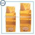 Papelão Dumpbins Display, Dumpbins de varejo para Chocolate
