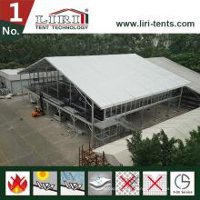 Tente deux étages 30X60m / tente à deux étages pour traiteur et holispitalité
