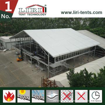 30X60m двухэтажный шатер/ шатер двойного Decker для питания и Holispitality