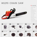 gasoline Chainsaw parts supply from stock
