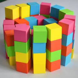 EVA foam rubber children toys building blocks