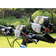 Super Bright 2, 000 Lumens Xm-U2 LED Bike Lamp Focusing Bike Light