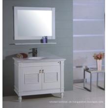 Weiße hölzerne Badezimmer-Eitelkeit (B-310)