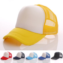 Fashion Blank Cotton Nylon Mesh DIY Baseball Caps (YKY3423)