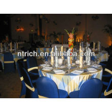 Elegant armless lycra spandex chair covers for wedding