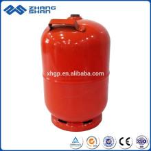 Preço do tanque de gás de cozinha do cilindro vazio no atacado com churrasqueira e queimador