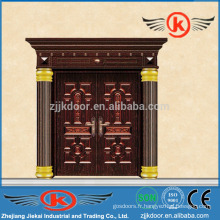 JK-C9033 Décoration Luxe Imitation Sécurité Porte en cuivre