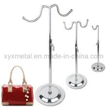 Miroir Chrome Plate Steel Metal Display Holder