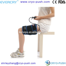 Adjustable thigh wrap hot and cold therapy