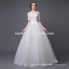 сексуальный бисером свадебное платье для зрелой невесты белый невесты платье для свадьбы