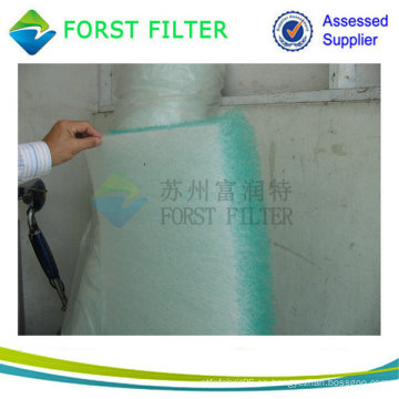 Filtro de fibra de vidrio de cabina de Spray de Forst