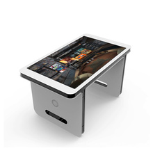 Standalone 55inch advertising display touch screen kiosk table digital signage