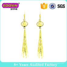 Дубай золото ювелирные изделия серьги для женщин