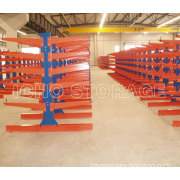 CE Certified Warehouse Storage Metal Rack for Long&Bulky Storage Cantilever Rack
