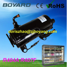 pièce de rechange de Refrigeration réfrigération compresseur rotatif horizontal R22 R404A remplacer sc15cl pour réfrigérateur commercial salade