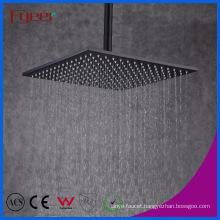 Fyeer 12 Inch Black Top Shower Square Black Shower Head