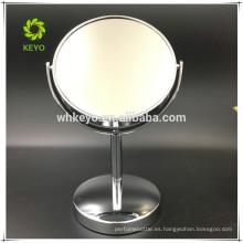 2017 espejo de maquillaje de escritorio 1 / 3X espejo de aumento de baño espejo de aumento personalizado