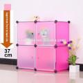 Plastic wardrobe storage cabinet
