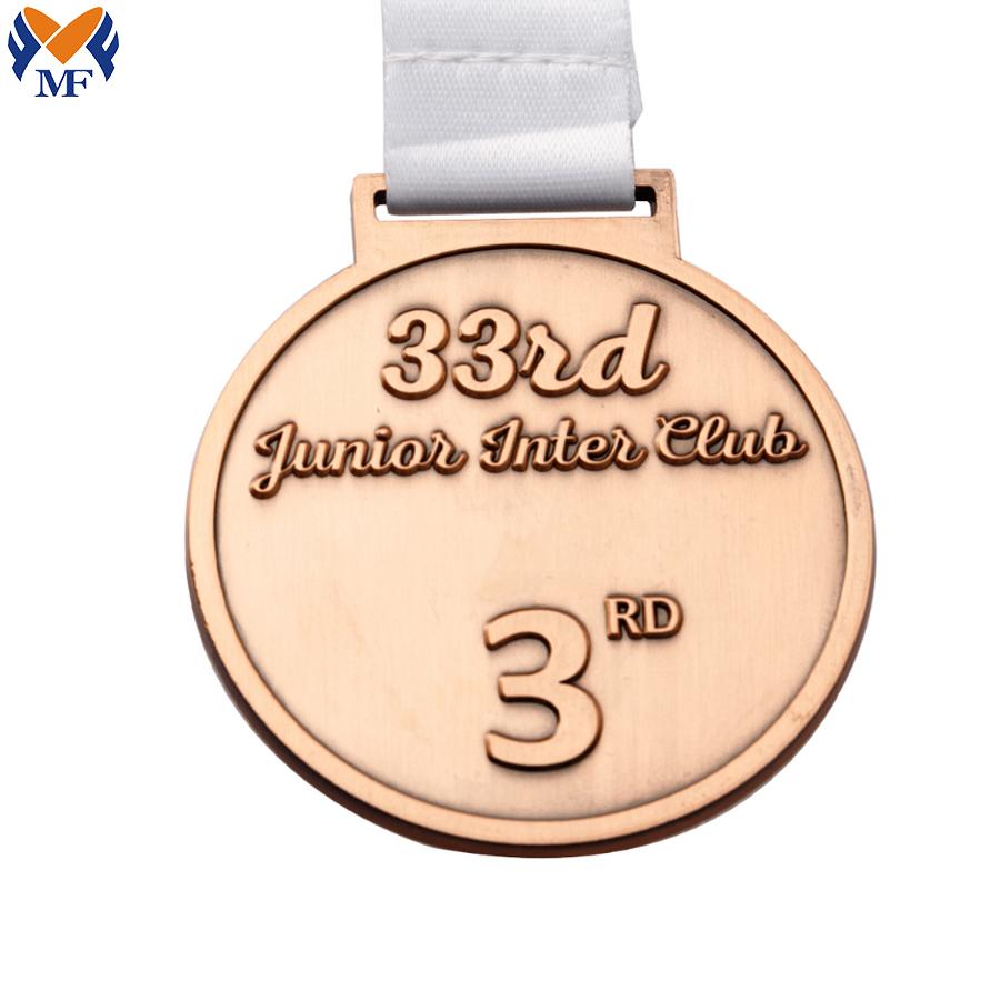 Custom Medals Copper