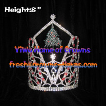 8-Zoll-Wholesale Christmas Tree Crown Christmas Crown