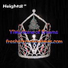 8 polegadas grosso árvore de Natal coroa coroa de Natal