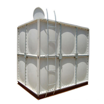 Réservoir de stockage d'eau sectionnel FRP