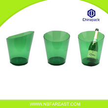 Promotion custom transparent champagne bucket