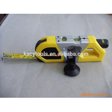 Multifunctional 3m tape measure and laser spirit level