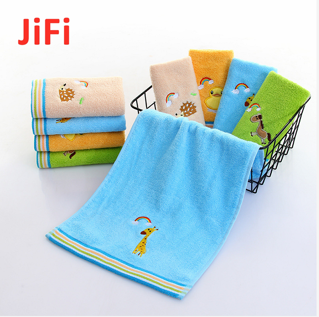 Kids Baby Hot Selling Pretty Design Soft Cotton Face Towel 4