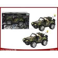 Brinquedos elétricos Jeep brinquedos militares com míssil