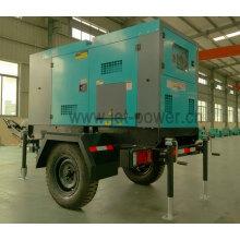 350kVA/280kw Silent Type Three Phase Diesel Generator with Trailer