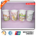Painting Porcelain Mugs in Cheap